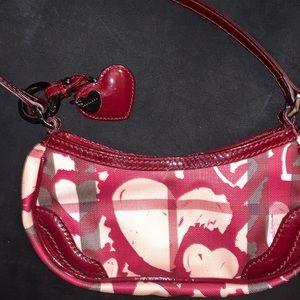 Burberry Limited Edition Heart Nova Baguette Bag
